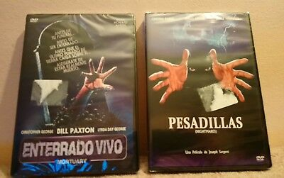 Pack 2 Dvd:Enterrado Vivo+Pesadillas