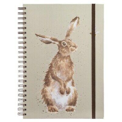 Wrendale Designs Hare and Bee A4 Spiral Bound Notebook