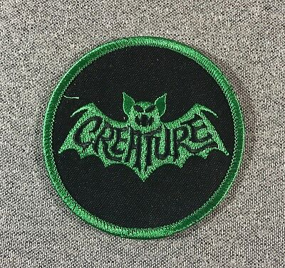 Creature Fiend Club Skateboard Patch Batte