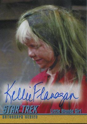 Star Trek TOS The Captains Collection Autograph A291 Kellie Flanagan