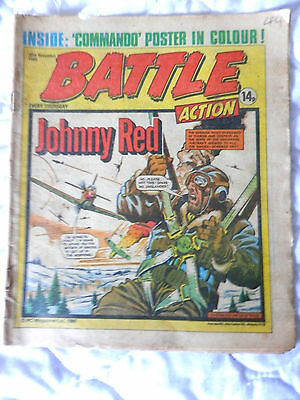 BATTLE and ACTION ccomic (1980)