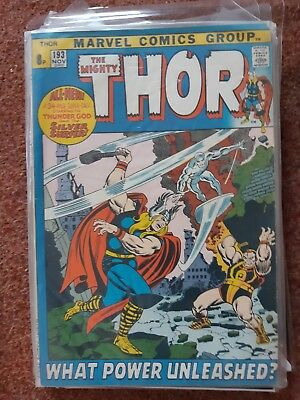 Thor 193 - Giant Size/square Bound - Silver Surfer - Fine+