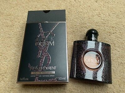 Yves Saint Laurent Black Opium Eau de Toilette for Women - 50ml (sprayed Once)