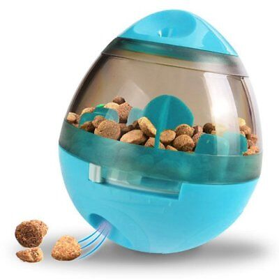 Dog and Cat Treat Dispenser Food Ball Toy, Interactive Treat-Dispensing