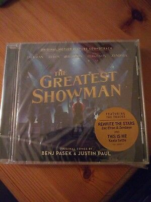 The Greatest Showman (Original Motion Picture Soundtrack CD) New Sealed F&F Post
