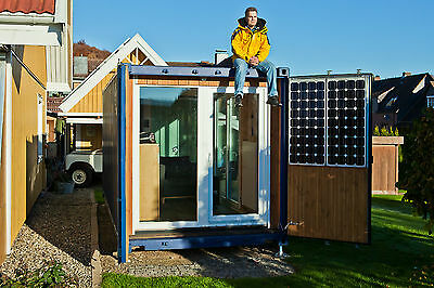 Tiny House im 20 Fuß Überseecontainer - Die Seecontainerwohnung