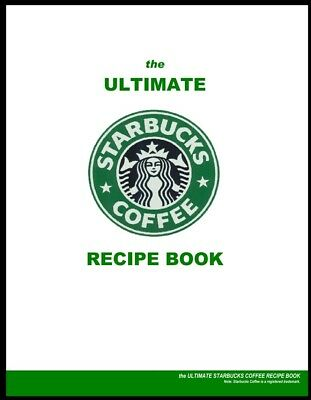 Ultimate Starbucks coffee Recipes book Desserts Pastries [ PDF]