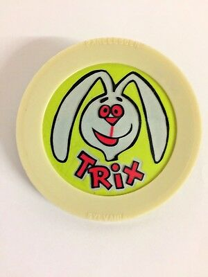 Vintage Trix Rabbit Nite Lite Cereal Premium Prize Advertisement Panelescent
