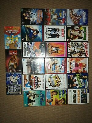 Dvd Bundle/joblot x21