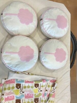 Dwell Studio For Target Farm Girl  Bedskirt And 4 Matching Farm Girl Pillows