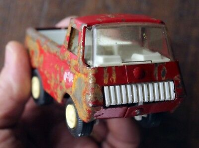 VINTAGE 1970's RED TONKA PICKUP TRUCK Made in USA Pressed Steel