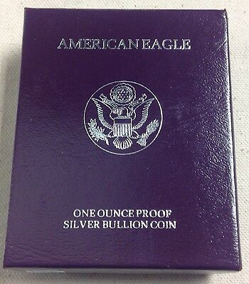 1990-S American Eagle (1oz) Proof Silver Bullion Coin