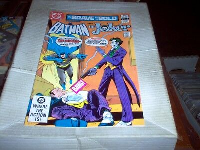 The Brave And The Bold # 191 Aparo Art Batman & The Joker Look Nm