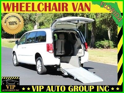 2014 Dodge Grand Caravan Handicap 2014 Dodge Grand Caravan SXT Handicap Wheelchair Mobility Rear Entry Manual Ramp