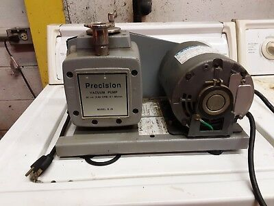 Precision Scientific I/m 25 Vacuum Pump Model # D 25 With 110 V Motor