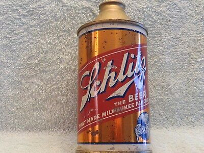 "Schlitz Beer Cone Top ""Brewed And Packaged"" Variation"