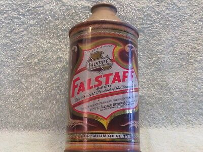 Falstaff Beer Cone Top Omaha DNCMT 4% No IRTP CCC 73F