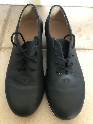 Excellent condition! BLOCH Tap Shoes Black Leather Women Size 8