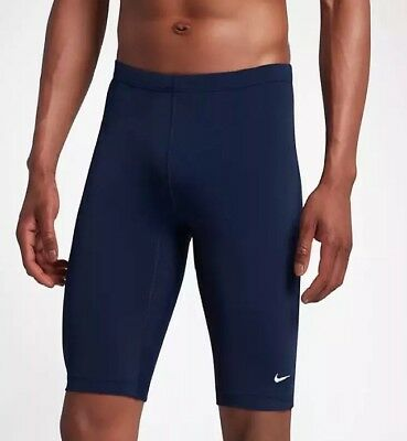 24f0658db1 NIKE Men's Performance Swimwear Navy Poly Core Solid Jammer TESS0036 440  Size 36