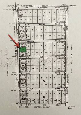 Half (0.5) Acres Property in Luna County, New Mexico - Very Low Taxes!
