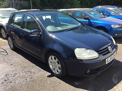 VW Golf GT TDi, 2005, 5dr, 135k with history, Only 1 former keeper/driver