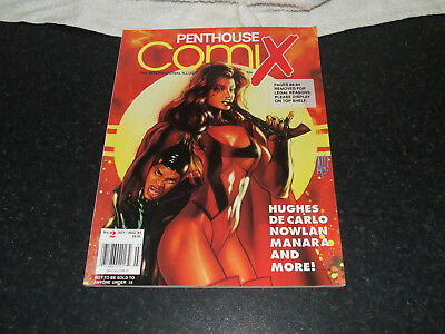 No 2 Penthouse  ComiX July/August 1994 pre owned Very good con