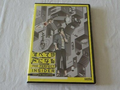 The Perfect Insider: The Complete Collection (DVD, 2016, 2-Disc Set) NEW