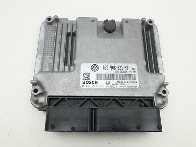 ENGINE Control Unit ECU Engine control unit for VW Caddy III 2K 03-10