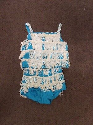 Vintage Flapper Dance Outfit Halloween Costume Girls Size
