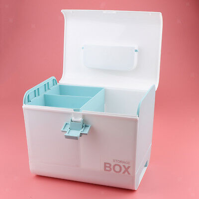 First Aid Box Empty Medicine Storage Case for Home Travel Car Adjustable
