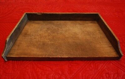 Wooden Cutting Board Gallery Sides Dough Bread Noodle Pastry Vintage Patina