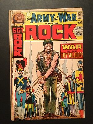 OUR ARMY AT WAR #243. Upper Middle Grade 1972 DC WAR comic w/ SGT ROCK