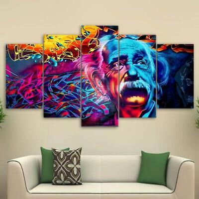 Albert Psychedelic Canvas Art Print for Wall Decor Painting