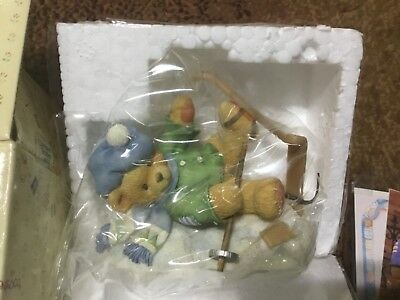 Cherished Teddies Spencer I'm Head Over Skis For You 269743 propose engagement