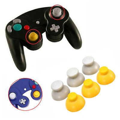 3 Pairs Replacement Analog Stick Thumb Cap For Nintendo GameCube Controller