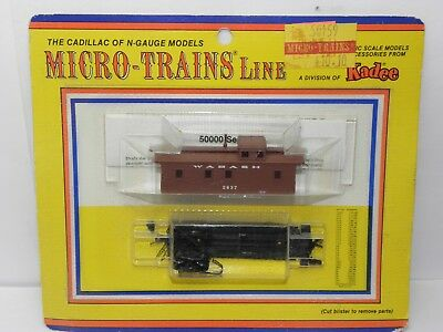 N Scale MTL CABOOSE KIT, WABASH 2637 (BLISTER PACK) MICRO-TRAINS LINE NIB