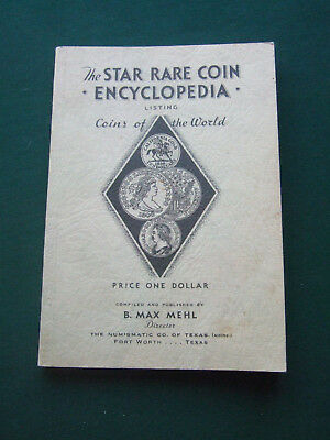 Vtg 1936 The Star Rare Coin Encyclopedia 44th edition Listing Coins of the World