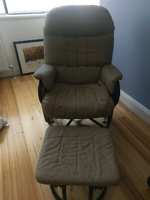 Valco Nursing/Feeding Chair Sand colour Great Condition - I Paid $436 New