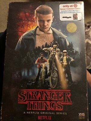 Stranger Things Season 1 Collectors Edition Target Exclusive Blu-ray DVD Sealed