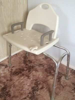 Adjustable Shower Seat Chair Stool Bench