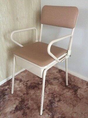 K•Care Bedside Commode, Adjustable Height, Swing Up Arms KA500ZS