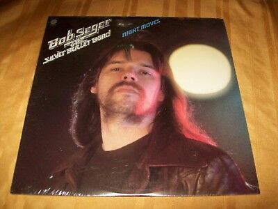 SEALED Bob Seger & The Silver Bullet Band Night Moves LP 1st Press ST-11557 1976