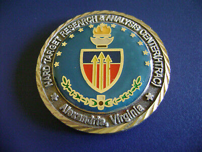 Hard Target Research & Analysis Center Htrac Utas Dtra Challenge Coin