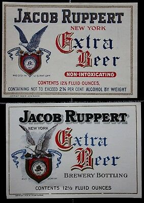 BEUSA 319 # beer label USA New York Ruppert Brewing NY - 2x