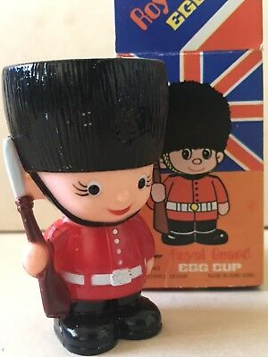 Vintage ROYAL GUARD Egg Cup UK English Soldier NEW In BOX