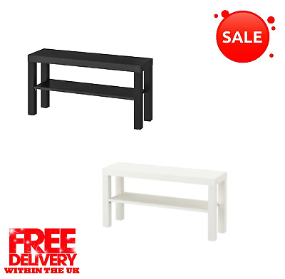 Lack Tv Bench/Stand With Shelf Brand New (2 Color )Fast & Free Delivery