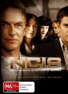 W2 BRAND NEW SEALED NCIS : Season 1 (DVD, 2006, 6-Disc Set)