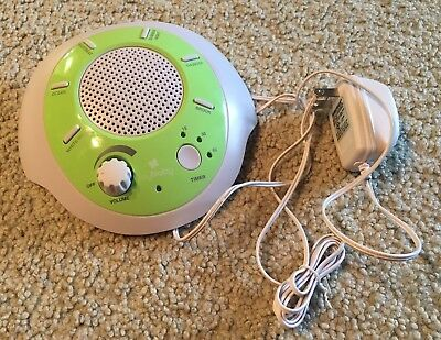 HoMedics MYbaby Sound Spa Baby Sound Machine w/6 Soothing Sounds-White Noise