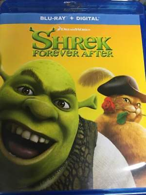 Shrek Forever After Blu-Ray No DVD/Digital/Slip Like New FREE Combine SHIPPING