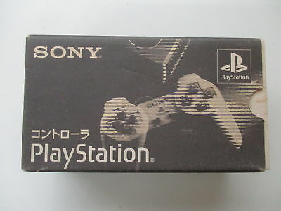 PS1 Playstation Controller Gray SCPH-1010 Boxed JP No.611